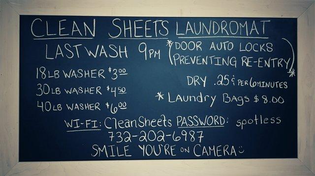 Clean Sheet's Laundromat