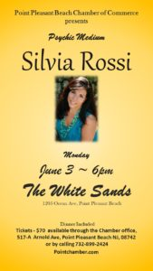 Psychic Medium Silvia Rossi @ The White Sands Resort & Spa | Point Pleasant Beach | New Jersey | United States