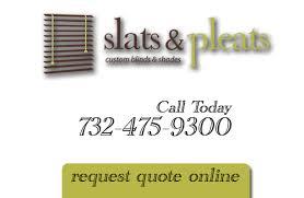 Slats & Pleats