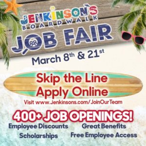 Jenkinson's Job Fair @ Jenkinson's | Point Pleasant Beach | New Jersey | United States